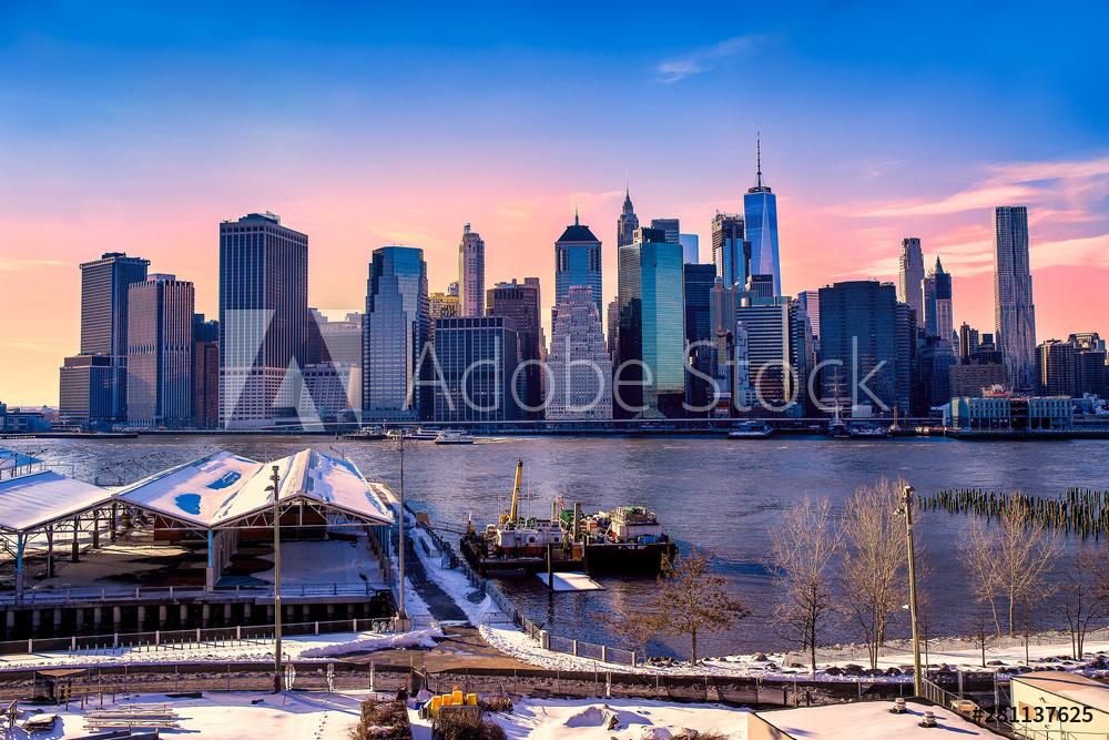 Photo sur plexiglas à New York City